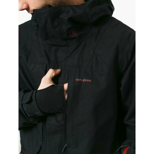 ANDERS 2L TDS® JACKET - BLACK