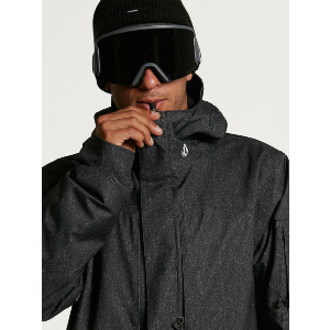 SCORTCH INS JACKET - BLACK STATIC