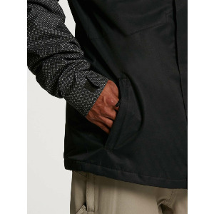 17FORTY INS JACKET - BLACK