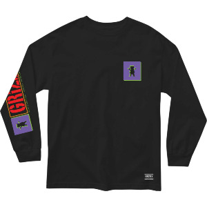 NORTH AMERICAN LS TEE - BLK
