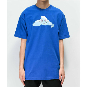 Head In The Cloud SS Tee - Blue