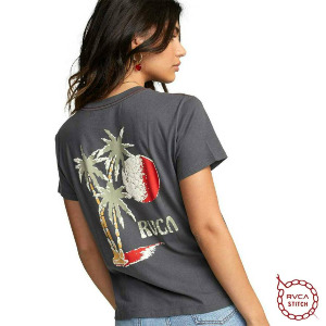 TOURIST TRAP TEE - GUNMETAL