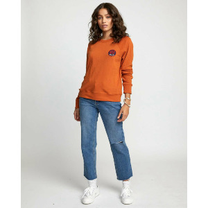 DYNASTY PULLOVER - DARK ORANGE