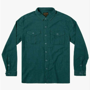 BAKER SKATEBOARDS LS FLANNEL - ALPINE